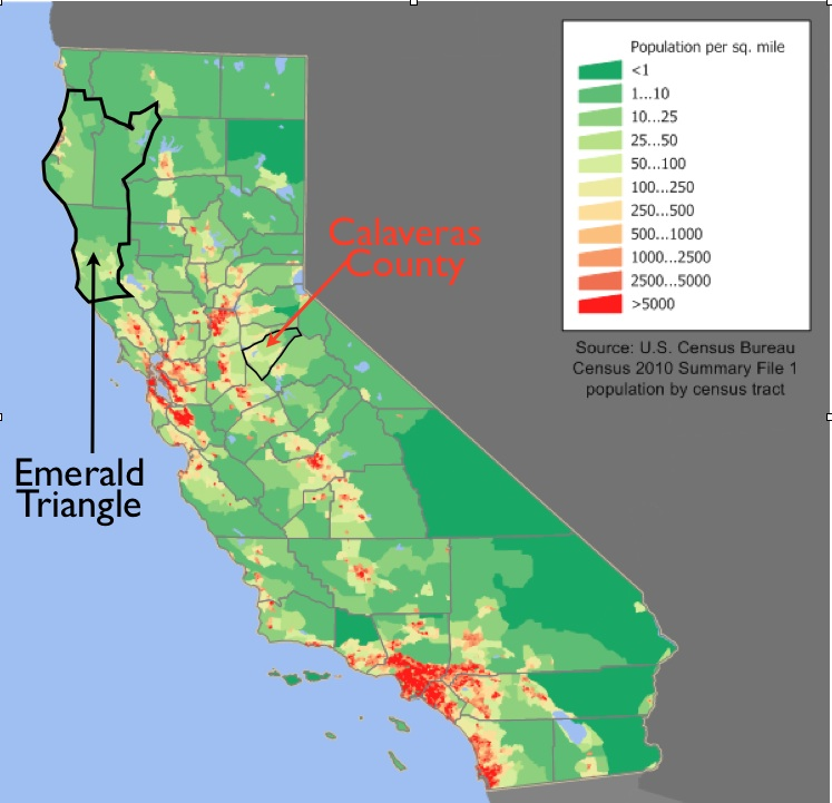 emerald triangle map