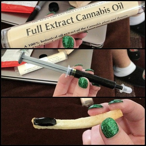 eating rick simpson full extract cannabis oil