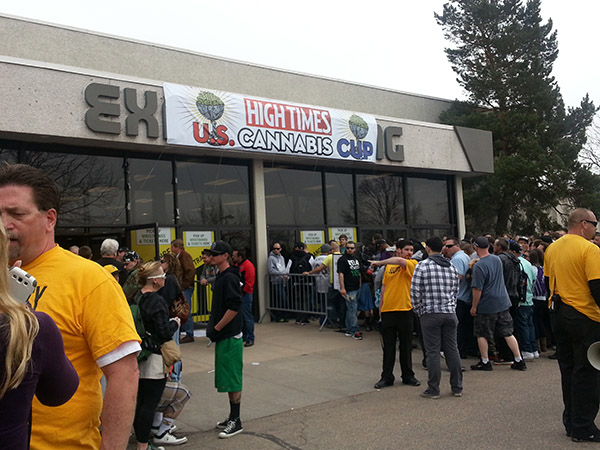 Entry to Denver Mart at 11:30 am.